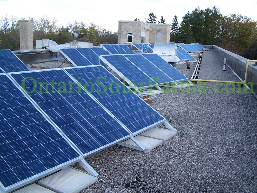 Rooftop Mounted Solar Pv Systems